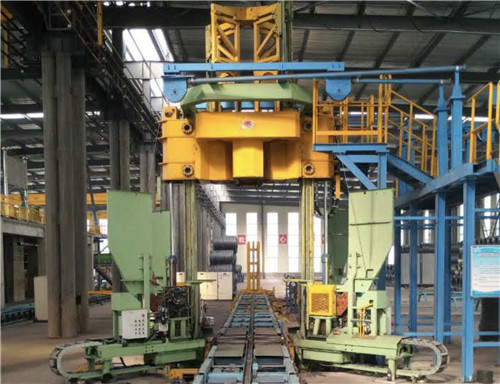 vertical coil compactors,wire rod production line