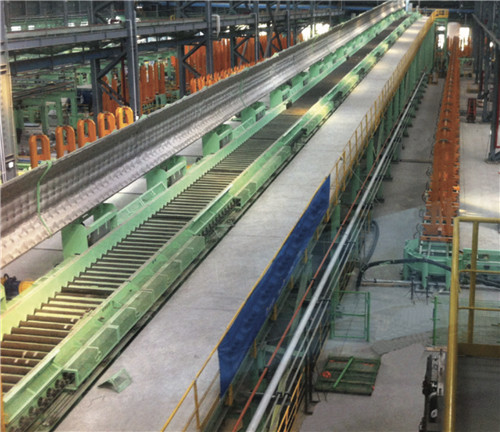 morgan stelmor controlled cooling conveyor system for wire rod line
