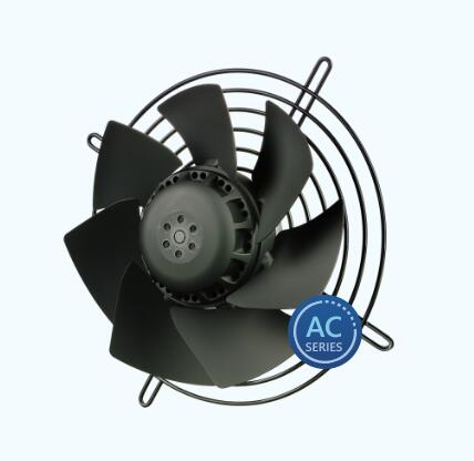 AC AXIAL FAN (welded 200 mm, 7 blades)