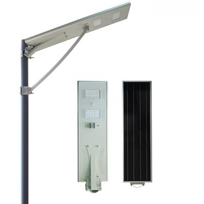 30W Outdoor Smart Motion Sensor All In One Solar Energy Road Lamps