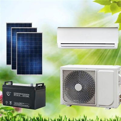 ACDC Hybrid Solar Air Conditioner Split Wall-Mounted Type