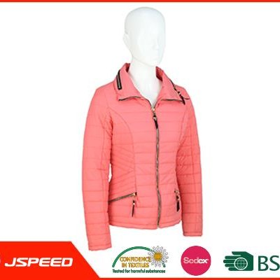 Cheap Women padded jacket to Keep Warm In Winter Ladies Fashion Slim Short Jacket Outerwear And Coat