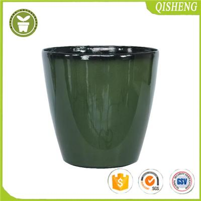 Glaze Lite Planter For Garden And Home Use,stone Material Mixture