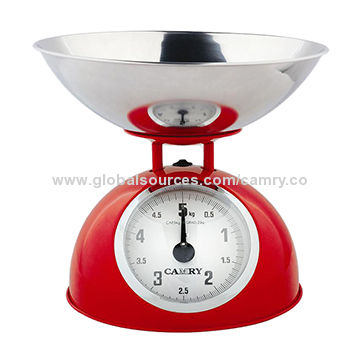 Mechanical Kitchen Food Weight Scale With Bowl