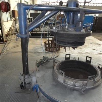 Pit Type Gas Nitriding Heat Treatment Industrial Furnace For Dies