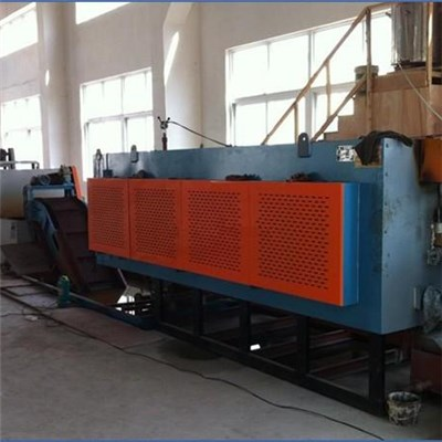 High Quality Continuous Mesh Belt Gas Carburizing Atmosphere Quenching And Tempering Heat Treatment Furnace