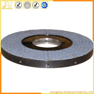 Vitrified Diamond And CBN Grinding Wheels For Top And Bottom Grinding Of Sapphire Wafer Edge
