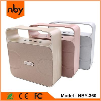 NBY-360 Portable Bluetooth Speaker Shenzhen Factory