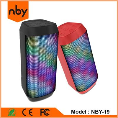 Degree 360 Fancy Pulse LED Music Bluetooth Speaker NBY-19