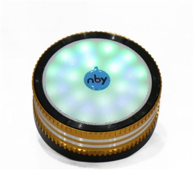 Wholesale Wireless Mini Bluetooth Speaker Round Type/best budget bluetooth speaker nby-500