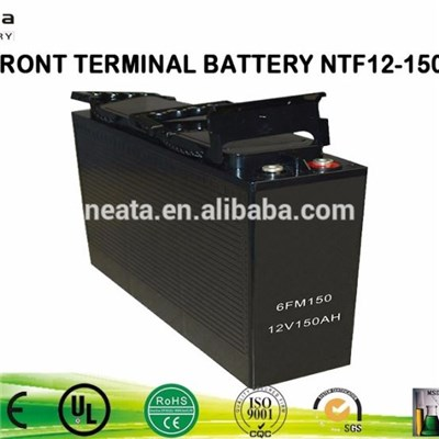 Front Acess Terminal VRLA AGM High Performance Battery 12V105ah 180ah For Bank Power Station Control Equipment