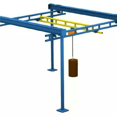 Free Standing Ceiling Mounted Workstation Cranes