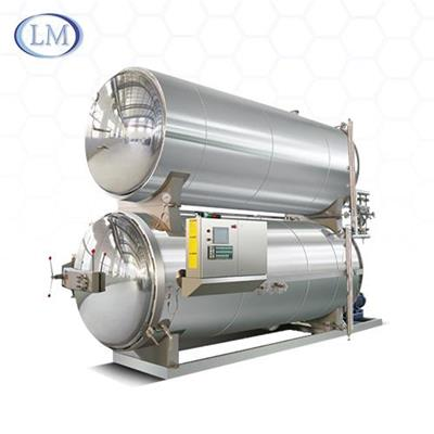 Double Layers Water Immersion Retort/autoclave/sterilizer/sterilization Machine