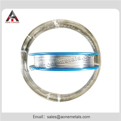 High Tensile Strength Is Up 1100 Mpa with Ti6Al 4Vmedical Titanium Wire H8 ASTM F136