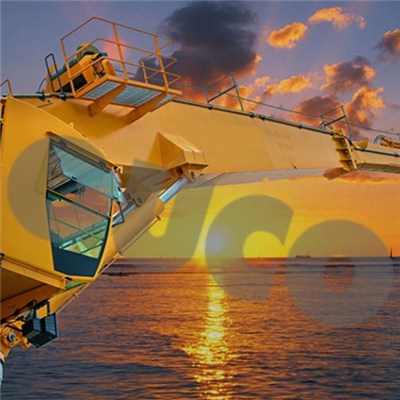 Offshore Crane 40m Long Boom Crane Marine Hydraulic Deck Crane Machine