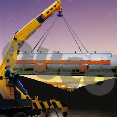 Great Heavy Duty Service Semi-knuckle Telescopic Boom Truck Mounted Crane