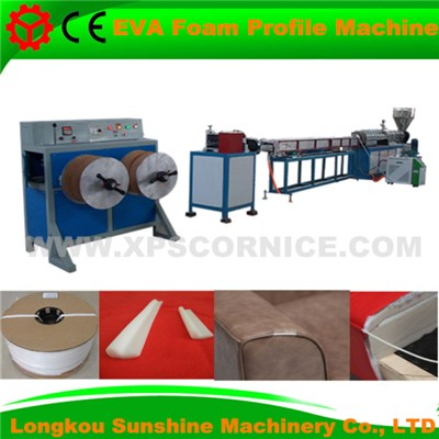 EVA Foam Profile Machine (OKE Techonlogy)