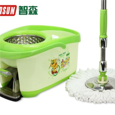 Green Foot Hand Pressure Rotating Mop