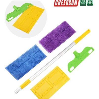 Best Household Cleaning Solution Long Handle Floor Microfiber Broom Mop
