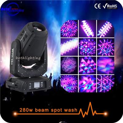 Moving Head Beam 280W 10R 3in1 Beam Spot Wash Moving Head Robe Pointe