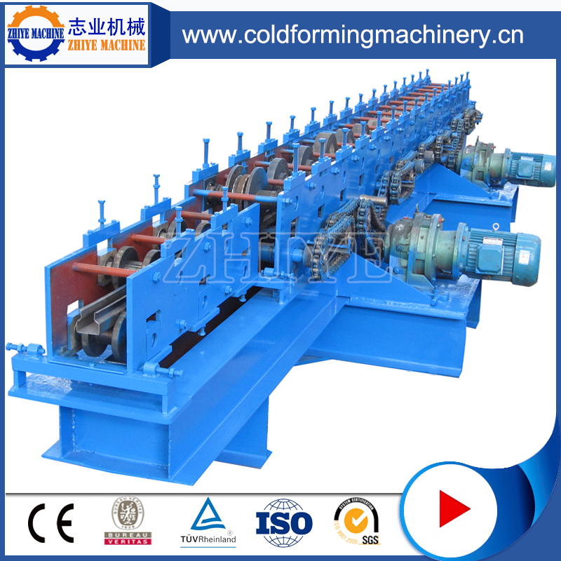 Adjustable Cold Steel Ridge Cap Roll Forming Machine
