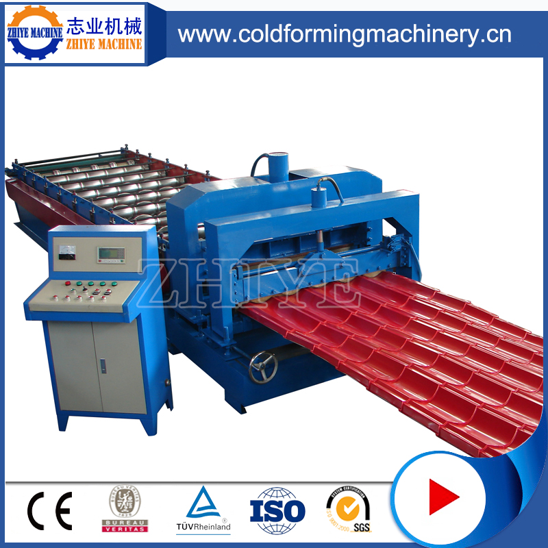 Step Tile Roofing Roll Forming Machines
