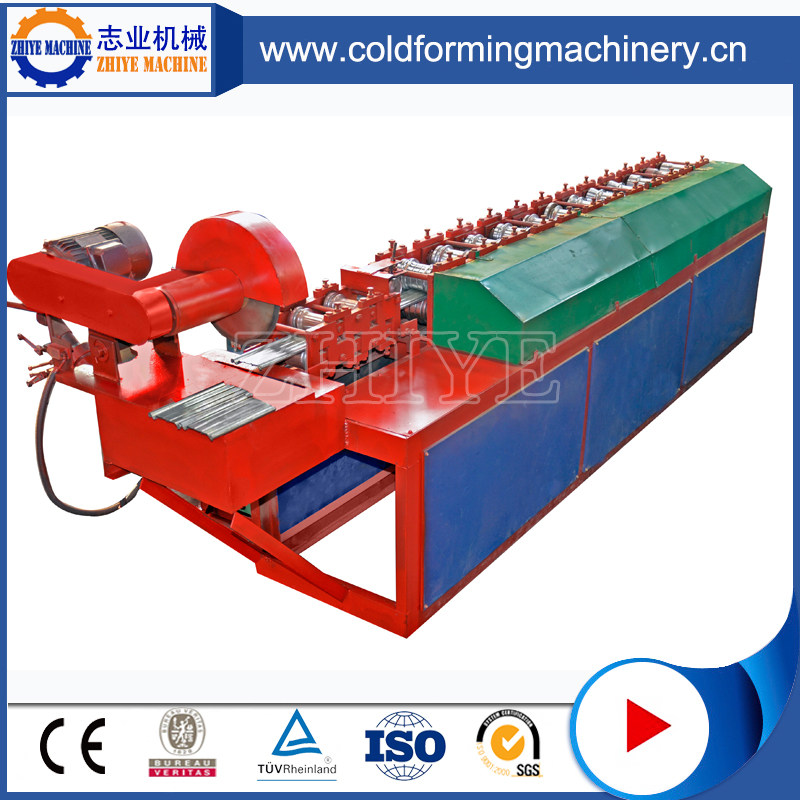 High Speed Red Metal Roller Shutter Door Making Machine
