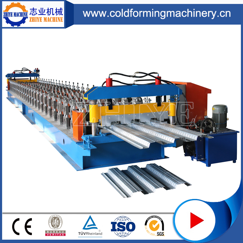 Fully Automatic Color Coated Steel Floor Decking Panel Making Machine
