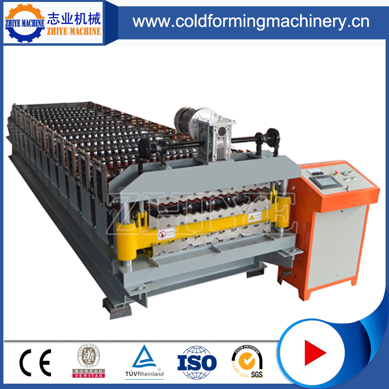 Color Steel Double Layer Roofing Sheet Forming Machinery