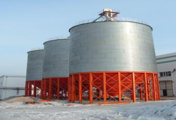 Bolted Steel Silo for Storing granular or powdery grains