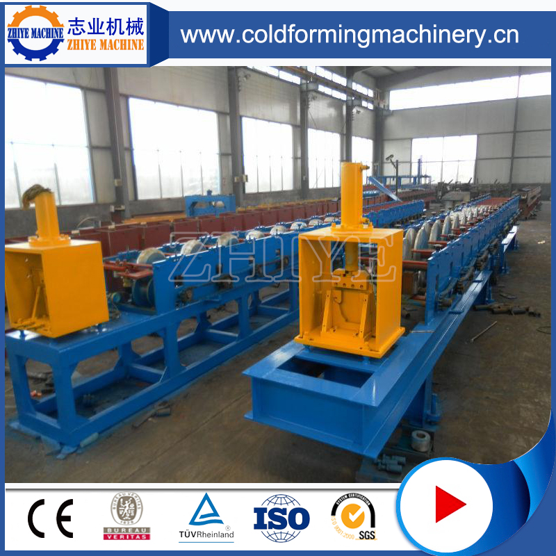 Rain Gutter Downpipe Roll Forming Machine For Sale
