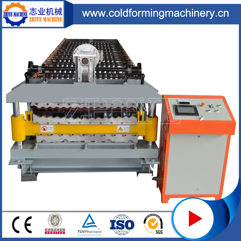 High Technology Double Deck Steel Roofing Panel Forming Line