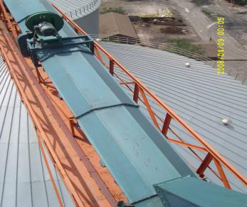 Air-cushion Belt Conveyor for level  transport materials
