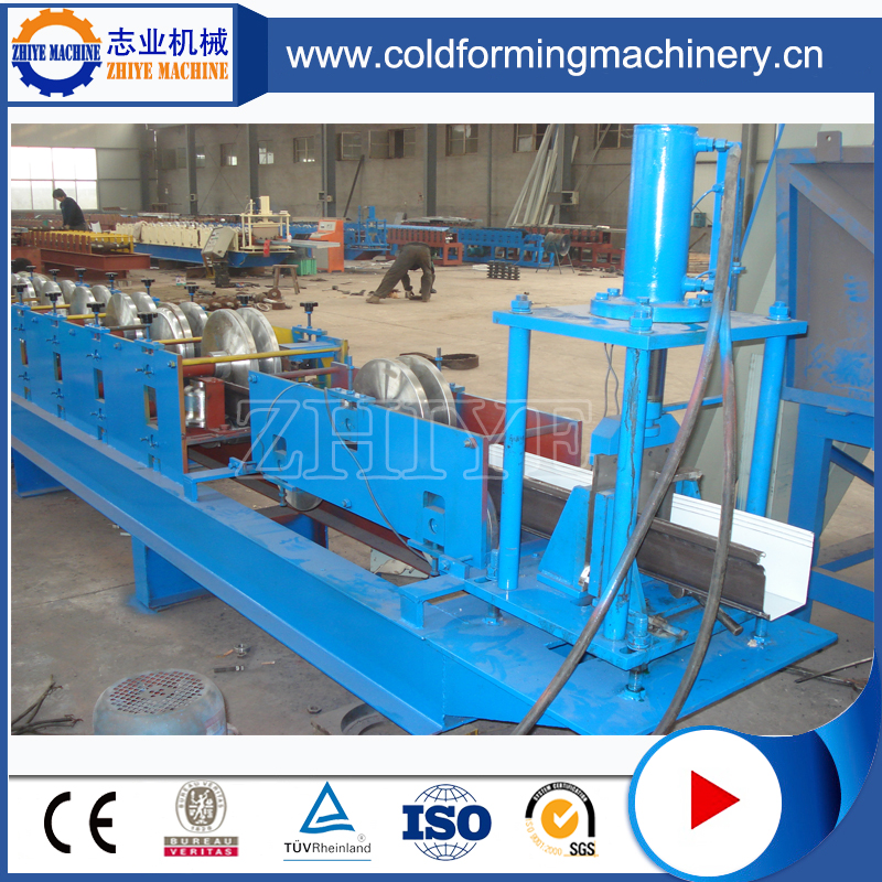 Steel Round Down Pipe Cold Forming Machinery