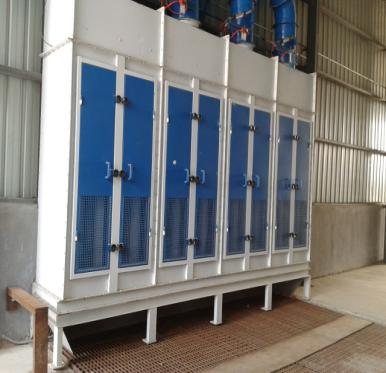 high efficiency Pulse Dust Collector for Collecting rising dust from the materials