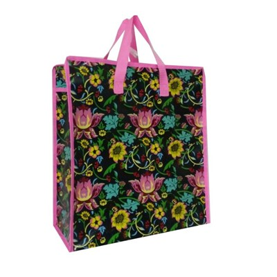 Laminated Promotional Tote Bag with Customized Designs and Logos Printing, Made of PP Woven