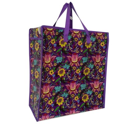 Promotional Tote Bag with Customized Logos, Made of PP Nonwoven with Glossy Lamination