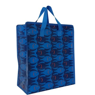 Tote Bag, Made of Nonwoven with Lamination, Customized Logos and Designs are Accepted
