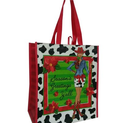 Recycled non-woven shopping bags