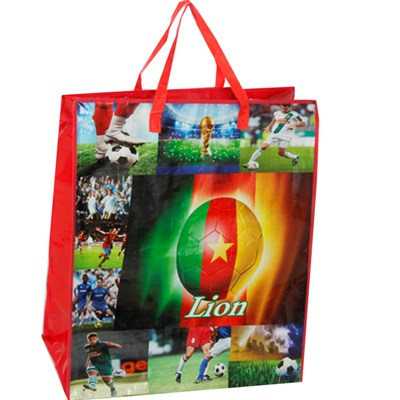New fashion design high quality woven tote bags, durable and eco-friendly