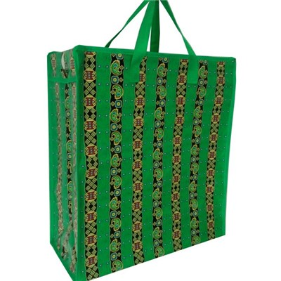 Large reusable reinforced non-woven shopping bags for women in any color
