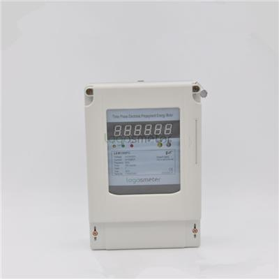 Three Phase Short Terminal Cover Electronic Prepaid Meter