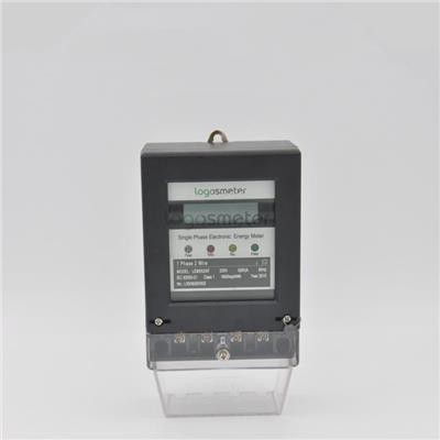 LCD Display Smart Single Phase Electronic Watt Hour Meter