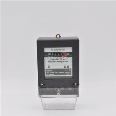 Single Phase Analogy Display Type Electronic Watt Hour Meter