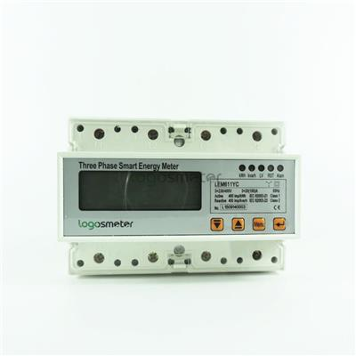 Din Rail Three Phase Smart Energy Meter