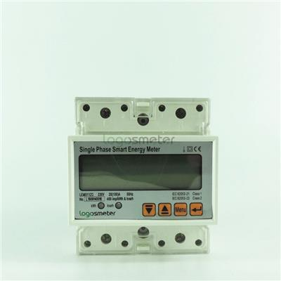 Din Rail Single Phase Smart Energy Meter