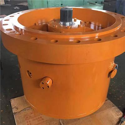 Customization Iron Casting Hollow Shaft Worm Gear Box For Coal Mine Equipment And For Construction Hoist And Lifting And Agricultural Machine