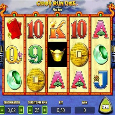 Aristocrat Original Luxury Casino Choy Sun Doa Video Slot Coin Pusher Hyperlink Gambling Game Board Machine SAS System