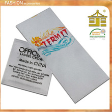 shirts/dress/T-shirts printing label for  clothing