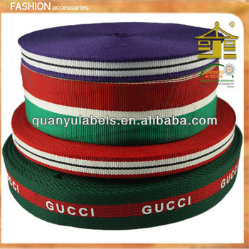 classical design custom wholesale character ribbon